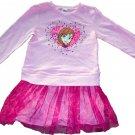 3T Disney Frozen Toddler Girls Long Sleeve Dress Size 3T