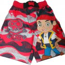 4T  Disney Jake and the Neverland Pirates Toddler Boys Swim Trunks Size 4T