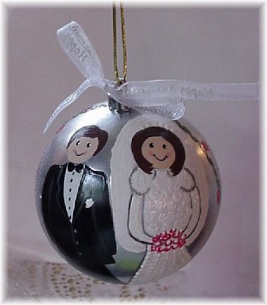 Cashier Check Wedding Gift : ... search categories wedding personalized gifts wedding ornaments 1