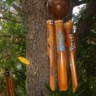 Real coconut top Bamboo WindChime Lighthouse windchime northwest style
