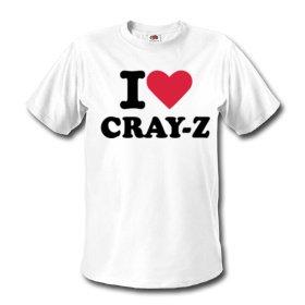 Cray-Z - I Love Cray-Z - White
