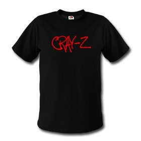 Cray-Z - Red Logo - Black