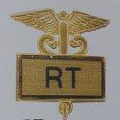 New RT Respiratory Therapist Lapel Pin Caduceus 3504G