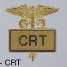 New CRT Certified Respiratory Tech Lapel Pin 3509G