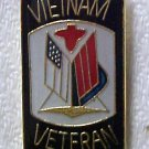 Vietnam Veteran Soldier Military Flag Lapel Cap Pin New