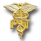 Physical Therapist PT Medical Caduceus Pin 805NC New