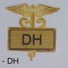 Dental Hygienist Emblem Inlaid Pin Caduceus 3503G New