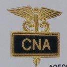 CNA Certified Nurses Aide Inlaid Pin Caduceus 3508B New