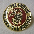 Marines The Few Proud Insignia Lapel Cap Pin Tac New