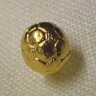 Soccer Ball Lapel Pin Sports Gold Plated Cap Tac New