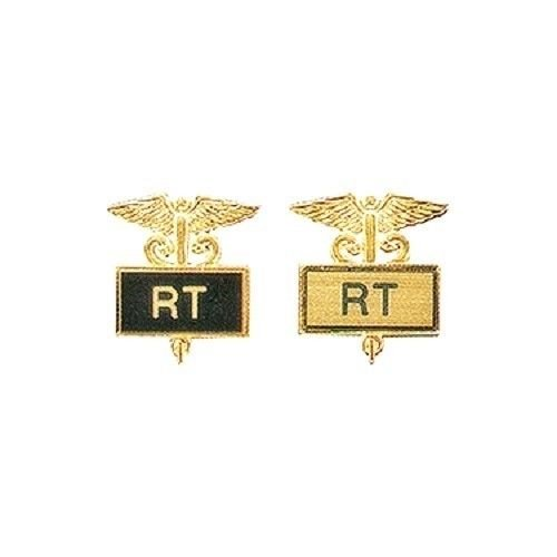 RT Pin Framed Caduceus Inlaid Respiratory Radiology Radiation Technician 3504
