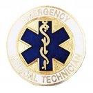 EMT Pin Emergency Medical Technician Star of Life Emblem Graduation New 2087