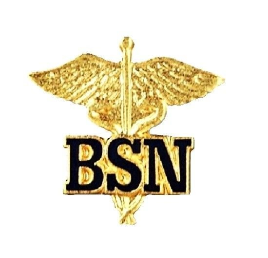 BSN Caduceus Pin Bachelor of Science Nurse Graduation Pinning Ceremony New