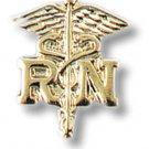 RN Caduceus Lapel Pin Set of 2 Registered Nurse Graduation Ceremony Cap Tacs