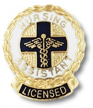 Nursing Assistant Licensed Pin Recognition Medical Nurse Graduation Pins PM1072