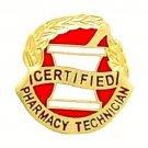 Certified Pharmacy Technician Pin Mortar Pestle Medical Graduation Pins Tech 959