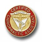 Certified Chiropractic Assistant Lapel Pin Medical Emblem Professional 5065 New