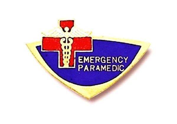 Emergency Paramedic Lapel Pin Red Cross Caduceus Professional EMS Pins 945 New