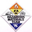 HAZ MAT Patch Hazardous Materials Team Embroidered Shoulder Chest Patches New