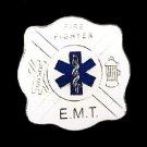 EMT Fire Fighter Lapel Pin Blue Star of Life Cap Tac Ladder Hydrant Fund Raising