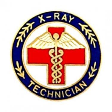 X Ray Technician Lapel Pin X-Ray Tech Medical Emblem  Graduation Pins 5063 New