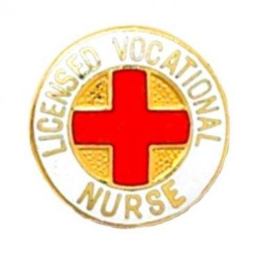 Licensed Vocational Nurse Pin LVN Medical Emblem Graduation Professional 814