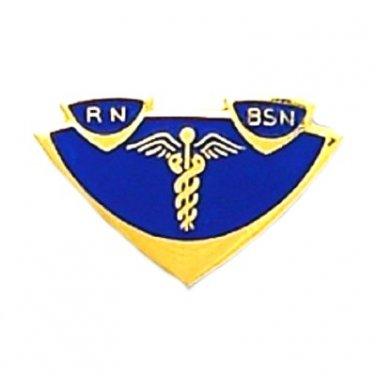 RN BSN Lapel Pin Insignia Emblem Registered Nurse Graduation Pinning 5003 New
