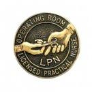 LPN Operating Room Nurse Pin Graduation Emblem Lapel Pins Professional 5050 New