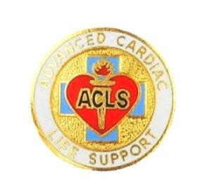Advanced Cardiac Life Support Pin Medical Emblem EMS EMT Prestige 2080 New