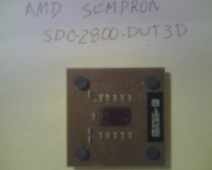 AMD Socket A (Socket 462) Sempron 2800 SDC2800DUT3D