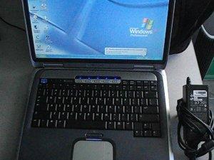 HP Pavilion ze4400 amd 2400 @1.7ghz - Win XP Pro,WIFI