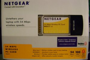 NEW NETGEAR WIFI 54MBPS PCMCI CARD