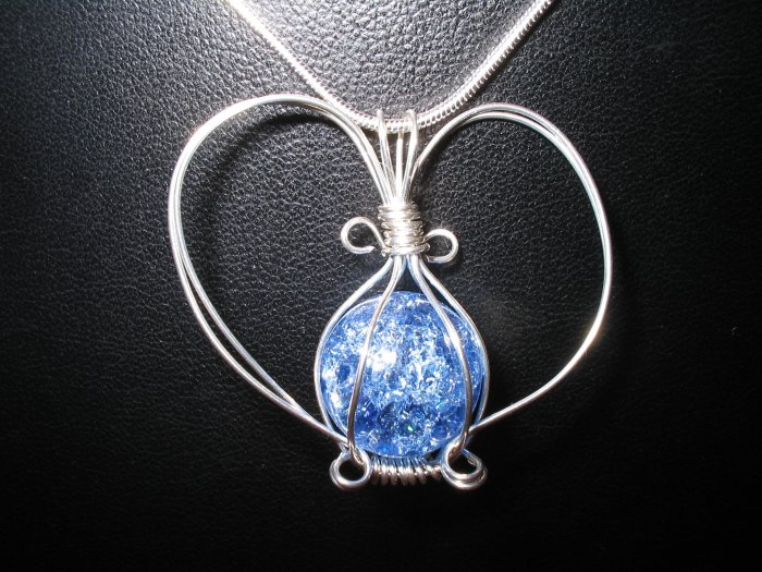 Wire Wrapped Interchangeable Pendant