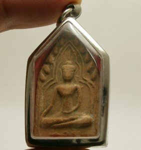 PHRA KHUNPAEN THAI REAL BUDDHA AMULET LOVE ATTRACTION PENDANT THAILAND NICE GIFT