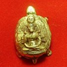 TINY TURTLE LP LEW & NGERN THAI MAGIC AMULET BLESS FOR RICH LUCKY WIN HAPPY LIFE