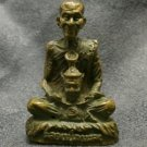 THAI POWERFUL BUDDHA MINIATURE AMULET LP KALONG LUCKY RICH SUCCESS THAILAND GIFT