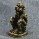 LORD HANUMAN MONKEY MUAY THAI FIGHTER REAL LIFE PROTECTION MINI BRASS HOT AMULET