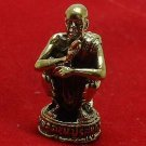 LP KOON THAI BUDDHA AMULET MINI STATUE RICH LUCKY POWER