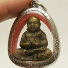 HAPPY BUDDHA SANGKAJAI LUCKY GAMBLE RICH MAGIC REAL POWERFUL AMULET PENDANT GIFT