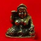TINY NANG KWAK LADY LUCKY RICH TRADE THAI BUDDHA AMULET CHARM THAILAND TALISMAN