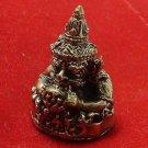MAGIC RAHU OM MOON HINDU BLESS WEALTH LUCKY THAI MINI AMULET THAILAND CRAFT GIFT