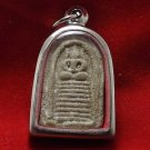 SOMDEJ LP PLAI THAI BUDDHA AMULET REAL BUDDHIST ANTIQUE SIAM SUPER RARE PENDANT