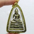 LP SOTORN THAI FAMOUS TOP TEMPLE BUDDHA AMULET GOLD PLATED PENDANT THAILAND GIFT