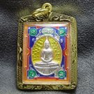 LP SOTORN YELLOW THAILAND FAMOUS TEMPLE THAI BUDDHA AMULET PEACEFUL LIFE PENDANT