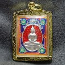 LP SOTORN RED THAILAND FAMOUS TEMPLE THAI BUDDHA AMULET PEACEFUL LIFE PENDANT