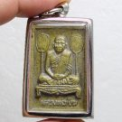 LP NGERN THAI BUDDHA REAL AMULET PENDANT LUCKY RICH SUCCESS THAILAND FAMOUS MONK