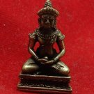 TINY CAMBODIA KHMER BUDDHA REAL BLESSED AMULET MINI STATUE NICE LUCKY CHARM GIFT