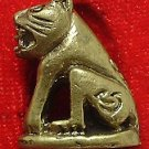 MAGIC YANTRA TIGER LP PARN REAL THAI MINI AMULET STRONG LIFE PROTECTION TALISMAN