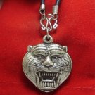 MAGIC TIGER LP PERN THAI SACRED MONK BUDDHIST AMULET PENDANT NECKLACE NICE GIFT