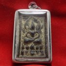 LP BOON SACRED FIRE & PEACEFUL SAMATI LORD BUDDHA REAL AMULET THAI LUCKY PENDANT